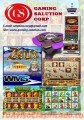 CASINO GAME BOARD & GAMING MACHINE  GAMING MACHINE